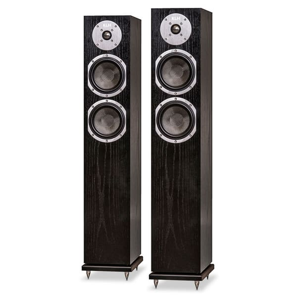 Shop Klh Cambridge Floorstanding Speakers Pair Overstock