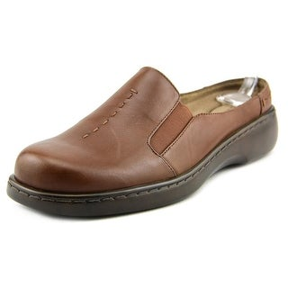 Auditions Harmony N/S Round Toe Leather Mules
