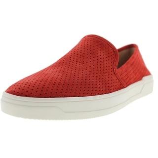 Via Spiga Womens Galea Perforated Fashion Sneakers