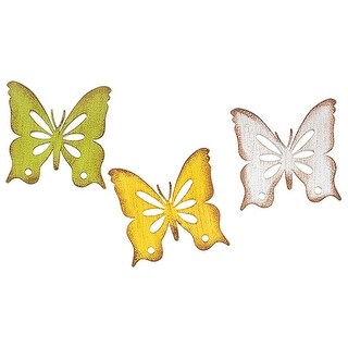 Link to Set of 3 Assorted Pastels Cutout Butterfly Magnets Similar Items in Accent Pieces