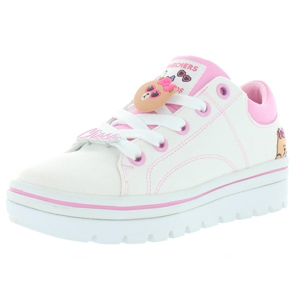 skechers womens pink trainers