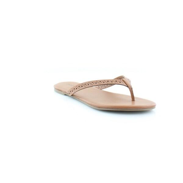 Pink & Pepper Brita Women's Sandals & Flip Flops Medium Natural - 9.5