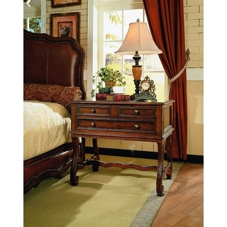 Chambord Wood Night Stand Bed Side Table French Furniture Style