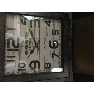 """Yosemite Home Décor """"Time Track"""" Wall Clock"""