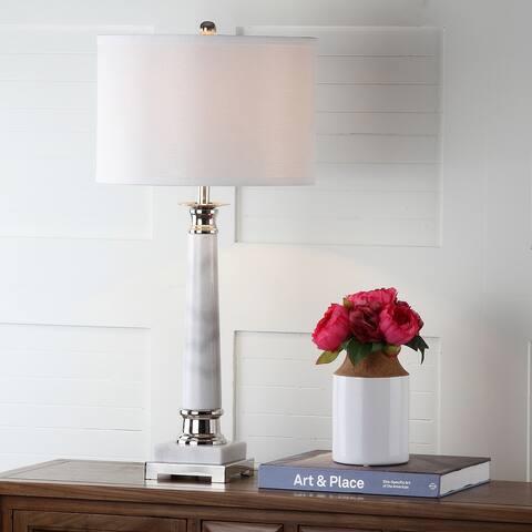 "Safavieh Lighting 30-inch Colleen Table Lamp (Set of 2) - 15""x15""x31"""