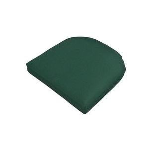 Casual Cushion 373-1455 Wicker Pad, Green
