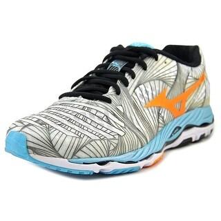 Mizuno Wave Paradox Women  Round Toe Canvas Gray Running Shoe