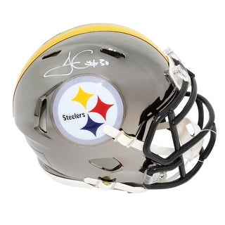 James Conner Pittsburgh Steelers Chrome Riddell Speed Mini Helmet