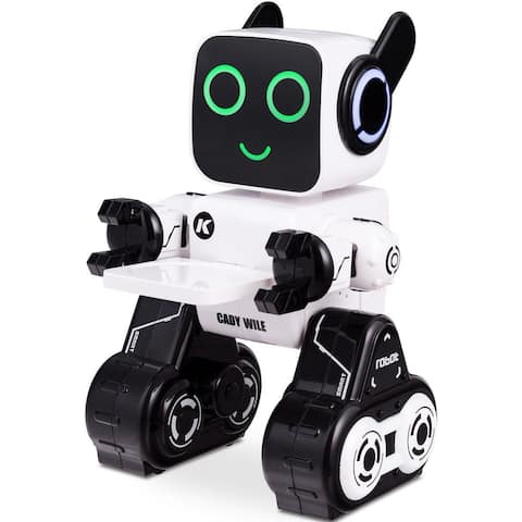 K3 Programmable Touch & Sound Control Piggy Sing Dance Robot - White