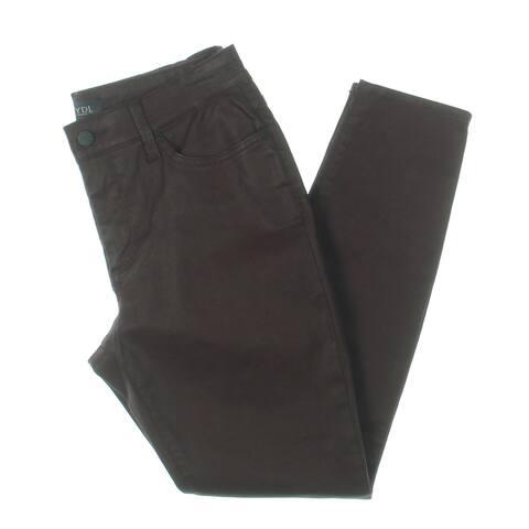 NYDJ Womens Petites Ami Jeans Coated Skinny