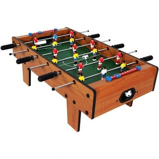 Sunnydaze 28-Inch Tabletop Foosball Table Game with Legs