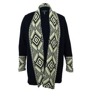 Ralph Lauren Women's Open Front Cardigan Sweater - pl
