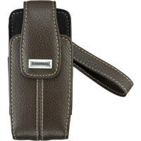 OEM Blackberry Pearl 8120 8130 8110 Leather Tote Case - Dark Brown