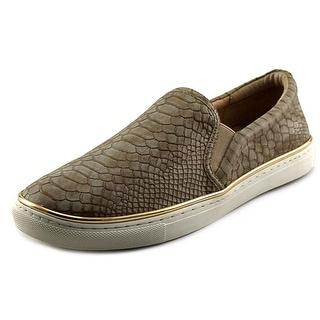 J/Slides Caseyy Round Toe Leather Loafer