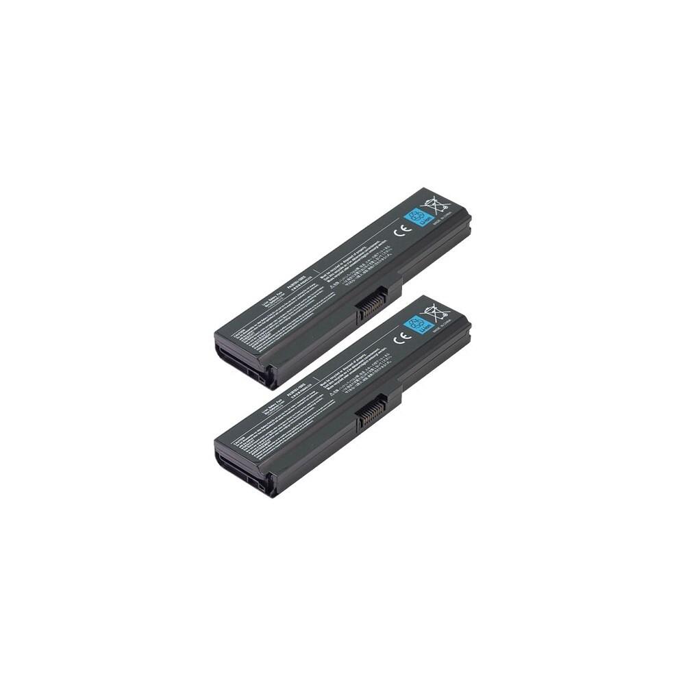 OEM Toshiba PA3817U-1BAS PA3818U-1BAS Battery For Satellite L655 2 Pack