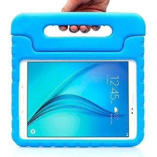 Samsung Galaxy Tab A 9.7 Case, i-Blason Armorbox Kido Series Lightweight Convertible Stand Cover 2015 Release-Blue