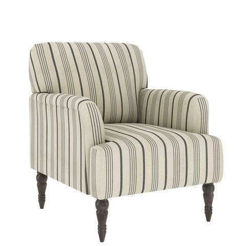 The Gray Barn Desden Farmhouse Woven Arm Chair