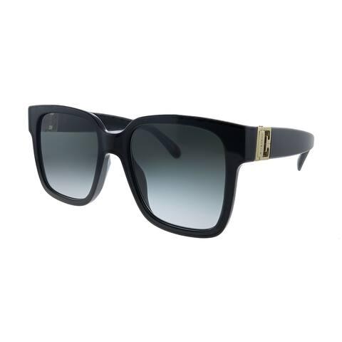 Givenchy GV 7141/G/S 807 9O Womens Black Frame Grey Gradient Lens Sunglasses