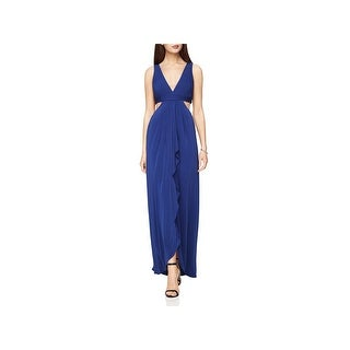 BCBG Max Azria Womens Elinne Evening Dress Special Occasion Front Slit