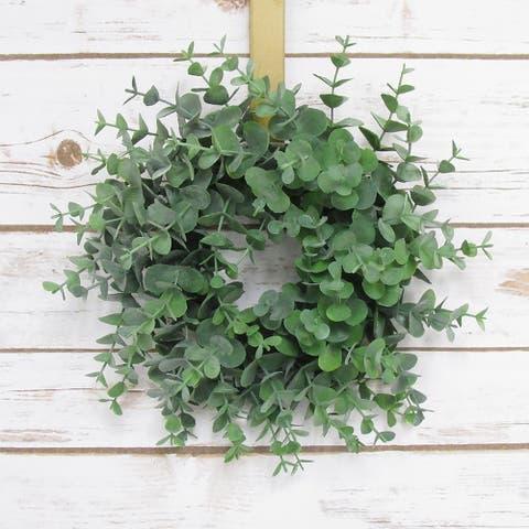 Eucalyptus Petite Wreath 9in