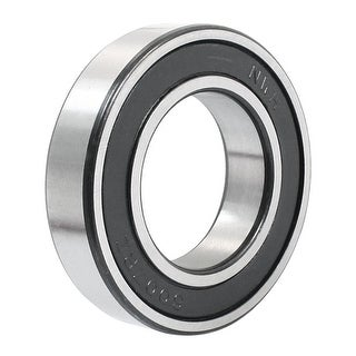 6007-2RS 35mmx62mmx14mm Rubber Sealed Deep Groove Radial Ball Bearing