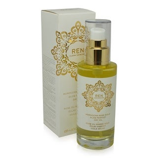 REN Skincare Moroccan Rose Gold Glow Perfect Dry Oil 3.3 Oz