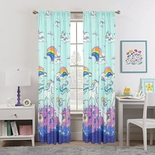 """Link to Magical Unicorn Window Panel Pair - 48"""" x 84"""" Similar Items in Window Treatments"""