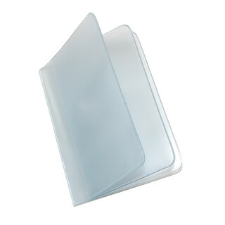 Buxton Vinyl Window Inserts for Bifold and Trifold Wallets (Pack of 4) - Clear - One Size