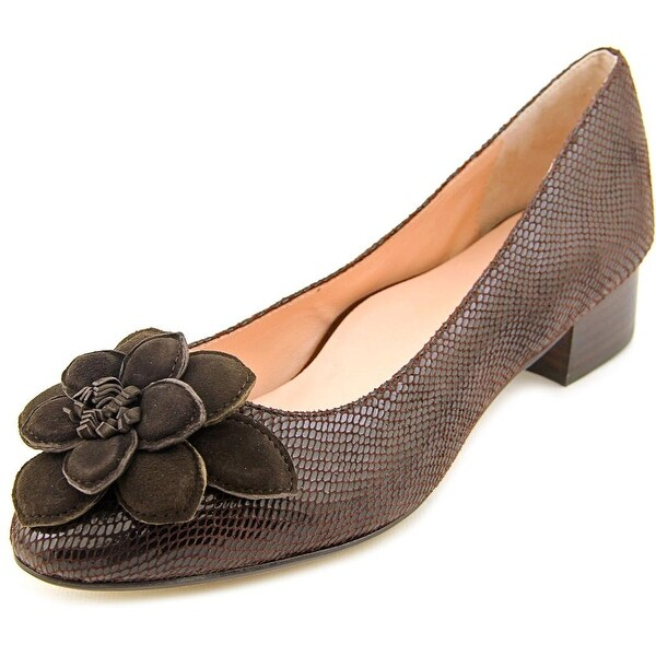 Taryn Rose Farak Round Toe Leather Flats
