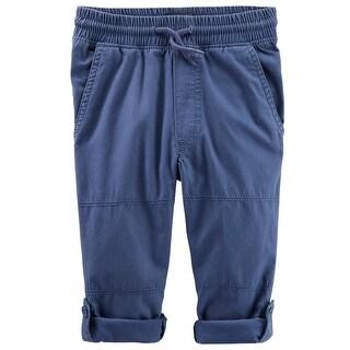 OshKosh B'Gosh Baby Boys' Convertible Canvas Pants, Khaki 6-9 Months