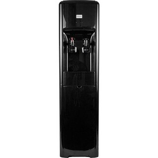 Clover D16 Water Dispenser -Hot and Cold Bottleless, High Capacity - Black