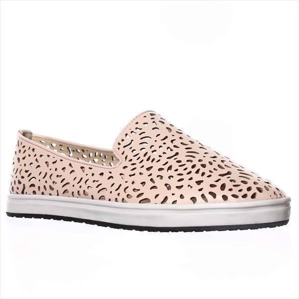 Steve Madden Esther Cut-Out Slip-On Sneakers, Nude