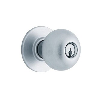 Schlage D53RD-ORB Orbit Heavy Duty Commercial Orbit Keyed Entrance Door Knob Set With Interchangeable Core