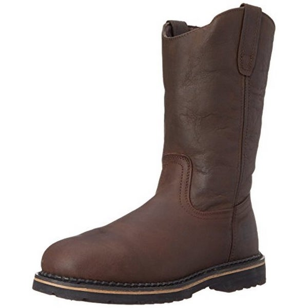 Mcrae Mens Ruf Rider Nst Pull On, Brown, 10.5M