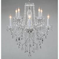 Swarovski Elements Crystal Trimmed Crystal Chandelier Lighting