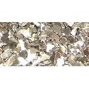 Iced Enamels German Glass Glitter .5oz-Silver
