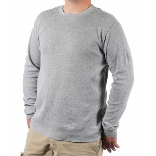 PJ Mark Men's Thermal Crew Neck Shirt