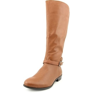 Style & Co Faee Wide Calf   Round Toe Synthetic  Mid Calf Boot