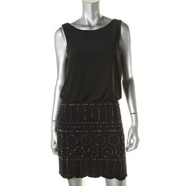 Xscape Womens Beaded Party Cocktail Dress - 6