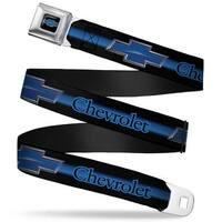 Chevrolet Horizon Bowtie Full Color Black Silver Blue Chevrolet Horizon Seatbelt Belt