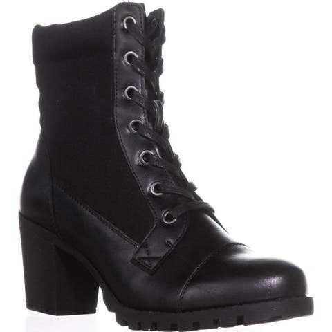 XOXO Womens Carley Closed Toe Ankle Motorcycle Boots