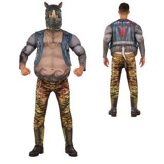 Mens Deluxe TMNT Rocksteady Rhino Costume