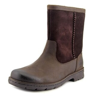 Ugg Australia Foerster Men Round Toe Suede Brown Snow Boot