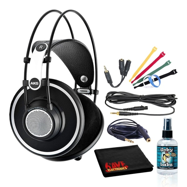 AKG K702 Reference Studio Headphones Bundle with Extension Cable. Opens flyout.