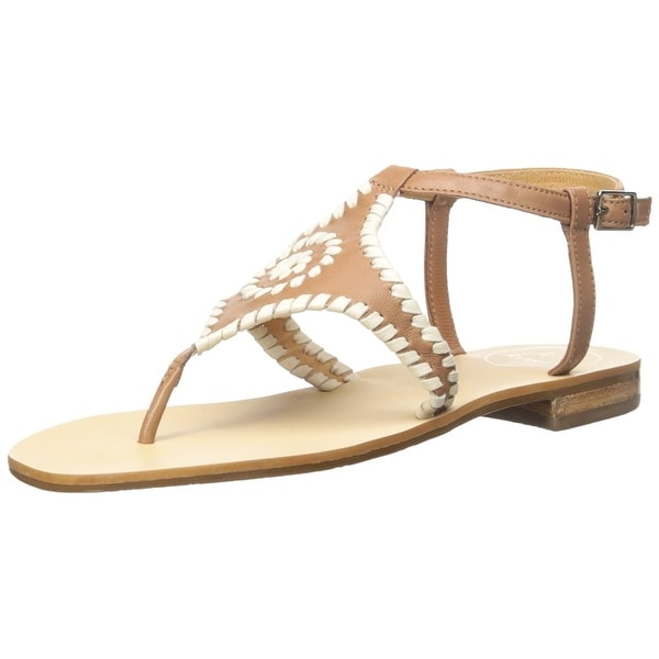 Jack Rogers Womens maci Open Toe Casual Ankle Strap Sandals - 8.5