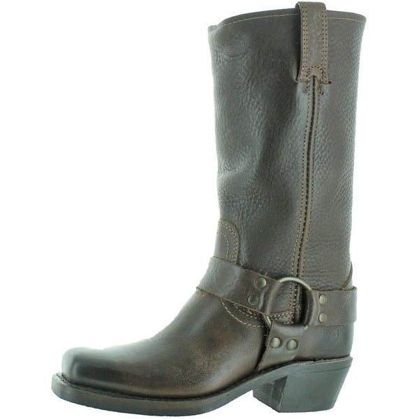 Frye Harness 12R Women's Buckle Leather Boots