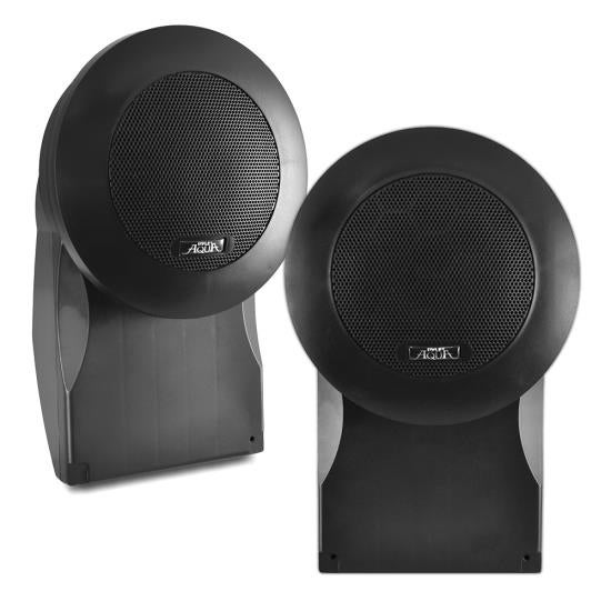 5'' High Quality PP Cone & PU Edge 500 Watts Marine Speakers (Black)