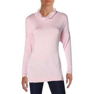 Lauren Ralph Lauren Womens Lilia Pullover Sweater Ponte Ribbed