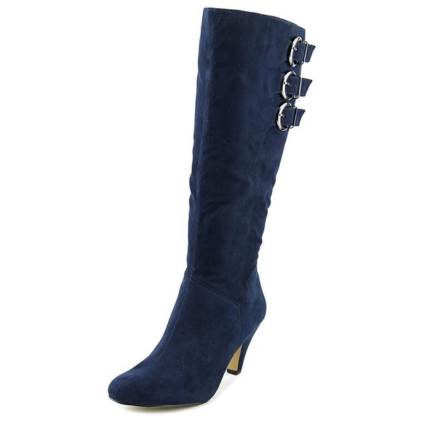 Bella Vita Transit II Women Round Toe Synthetic Blue Knee High Boot