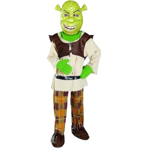 Shrek 4 Shrek Deluxe Child Costume - Green